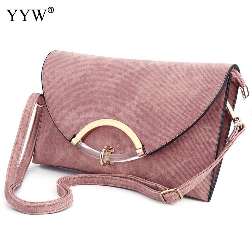 7cf4cdca5a5e Famous Brand Party Evening Lady s Clutch Bag Rose PU Leather Women s  Handbags Envelope Pouch Fashion Solid Color Purses Women
