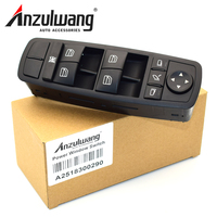 ANZULWANG Schalter für Fensterheber für Benz GL R ML Class W164 GL320 GL350 GL450 ML320 ML350 ML450 ML500 2518300290 A2518300290
