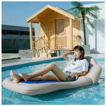 Надувной матрас Rooxin 175 см, надувной матрас для путешествий на заднем сиденье, с подушкой, для кемпинга, внедорожника