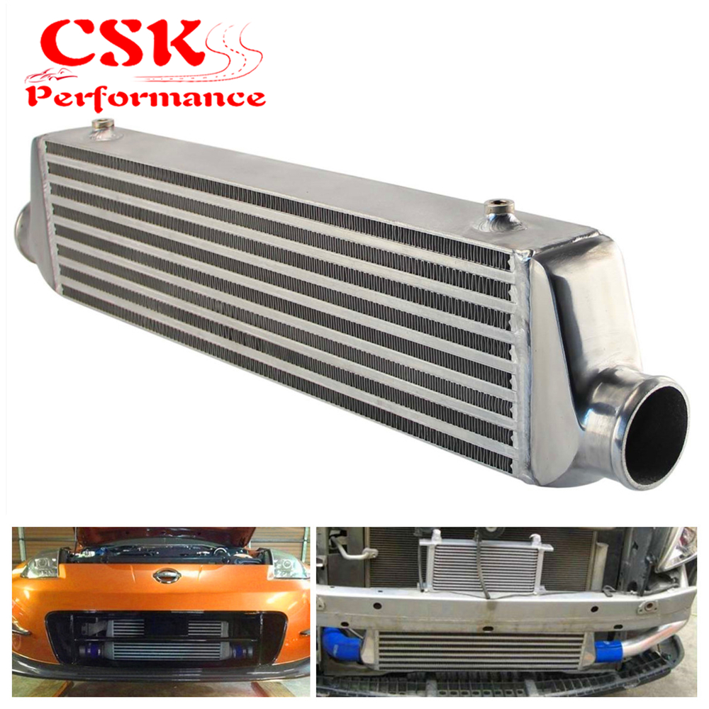 Universal Bar&Plate Front Mount Intercooler 550*140*64 FMIC 2.5 In/Outlet Silver