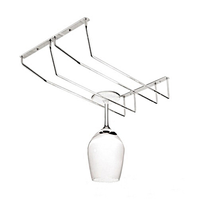 1pc Home Decorative Wine Glasses Holder Hanging Upside Down Cup