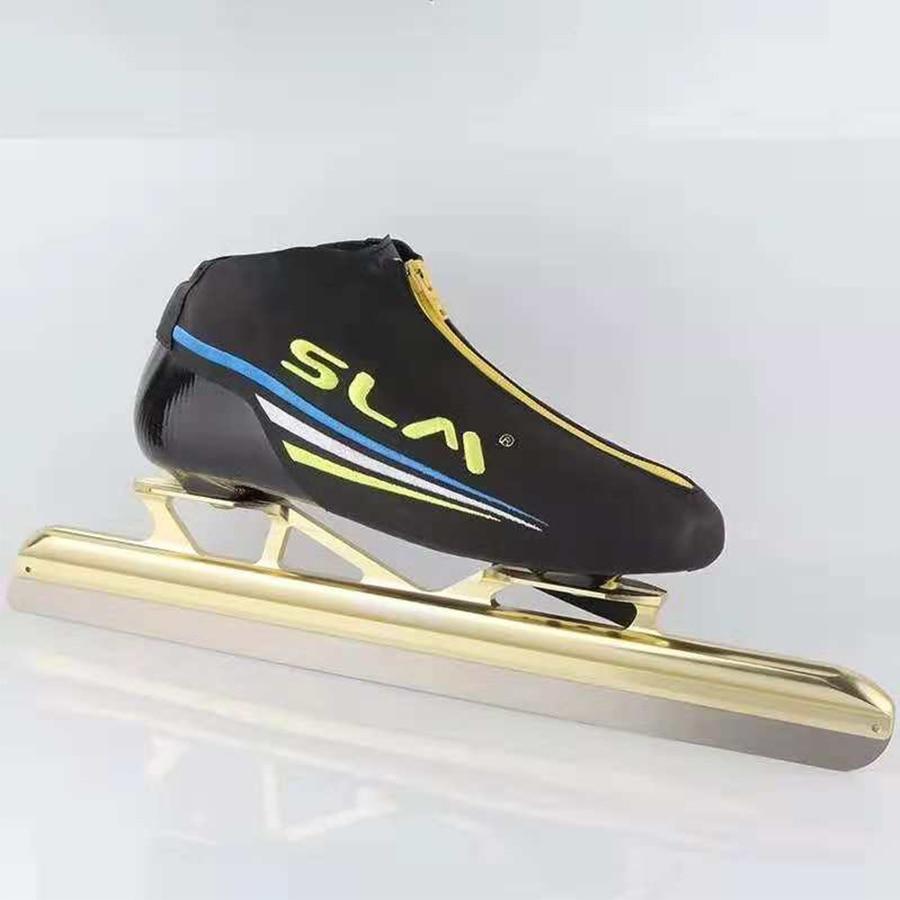 SLM Avenue Vitesse Patins À Glace EUR Taille 36-45 En Fiber De Verre Concurrence Fix Position de Courses Sur Glace De Patinage Chaussures Patines Bonne comme Cityrun