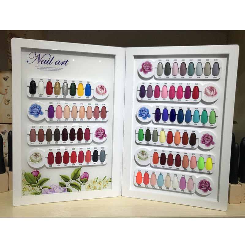 New Arrival Arcylic 80 Colors Nail Display Book Fashion Lady Nail Art Salon Display Card Book Nail Showing BordNew Arrival Arcylic 80 Colors Nail Display Book Fashion Lady Nail Art Salon Display Card Book Nail Showing Bord