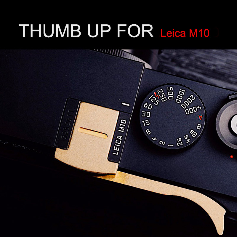 Hot Shoe Cover Copper Thumb UP Metal Thumb Rest Thumb Grip For Leica M10