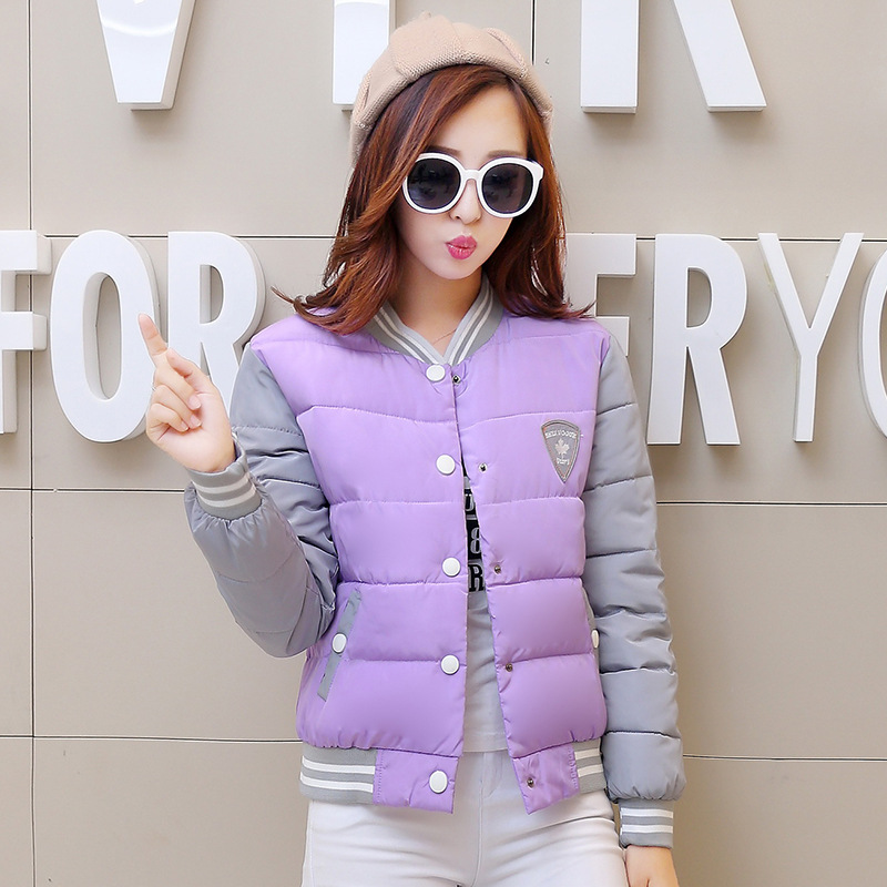 2016 New winter coat women cotton parkas Women's winter jacket women fashion uniform warm jackets Winter Coat Sale