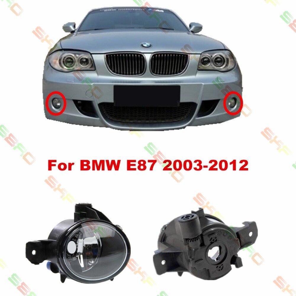 Для BMW Е87 2003/04/05/06/07/08/09/10/11/12 стайлинга автомобилей противотуманные фары 1 комплект противотуманных фар