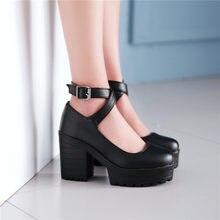 b358af34b8 Popular Black and White Block Heel-Buy Cheap Black and White Block ...