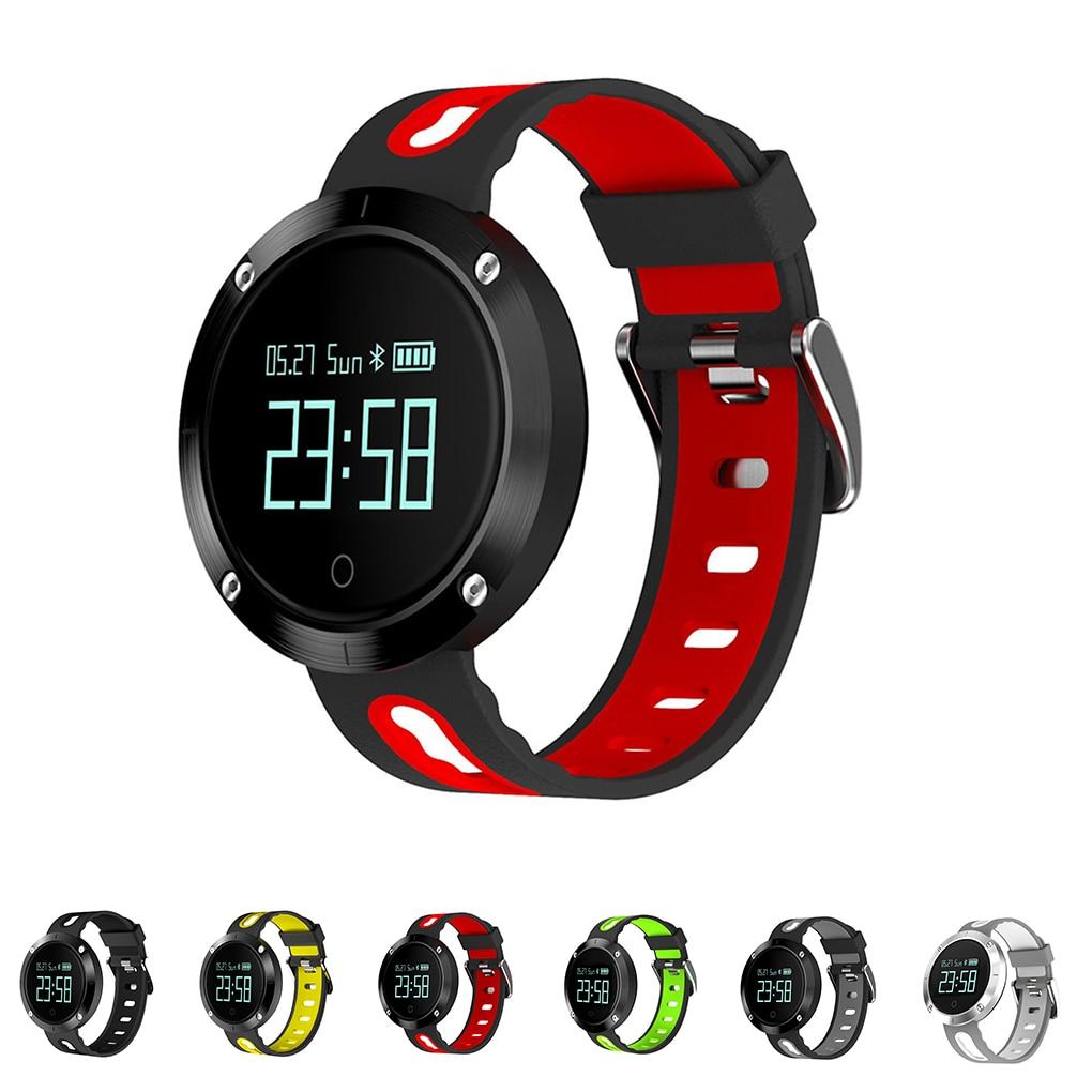 New DM58 Smart Watch Clock Men Women Sport Bluetoth Smart Wristband With Blood Heart Rate IP68 Waterproof Smartwatch