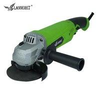 LANNERET AG1050/100DD01 1050 Watt 100mm Disc Elektrische Winkelschleifer mit Langem Griff Elektrowerkzeug für Schleifen und metall Schneiden