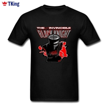 Black Knight Summer T Shirt Men's 3XL Short Sleeve Custom Tees New Arrivals Popular Round Neck 3d Printer High Quality T-Shirts
