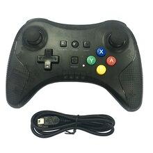 50 pcs Dual usb Pro Controlador sem fio Bluetooth jogo gamepad joystick botão de cor com luz de controle remoto para o Wii u