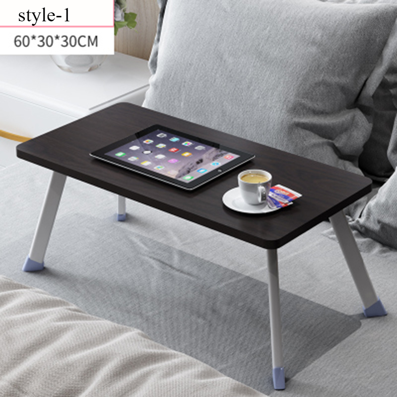 Size 60cmx30cmx30cm Multifunctional Fashion Convenient Bed Laptop Table Folding Table Student Hostel Loon Study Small Desk