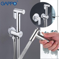 GAPPO Toilet Bidets Hygienic Shower Bathroom Bidet Mixer Muslim Toilet Shower Bidet Wall Mount Toilet Spray Shower Enema