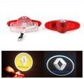 Para RENAULT Espace laguna latitude Talisman porta logotipo luz do projetor, fantasma Sombra bem-vindo lâmpada a laser