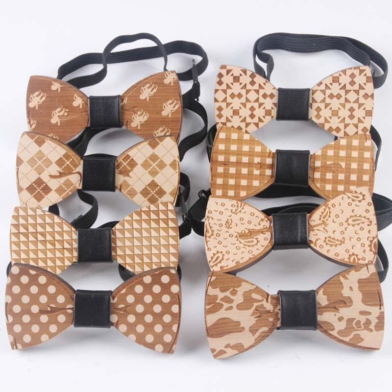 Holz Holz Bogen Krawatte Handgemachte Mit Verstellbaren Riemen Hohe Sicherheit Herren-krawatten & Taschentücher