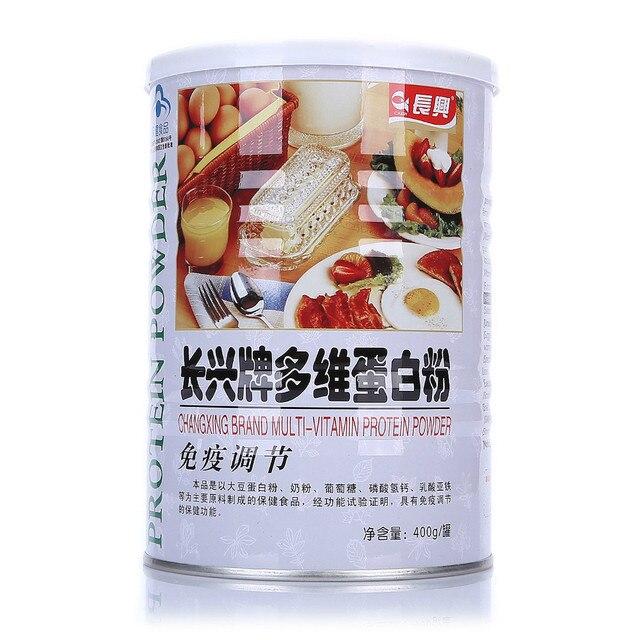 2 pot/lot multivitamin milk soybean protein powder