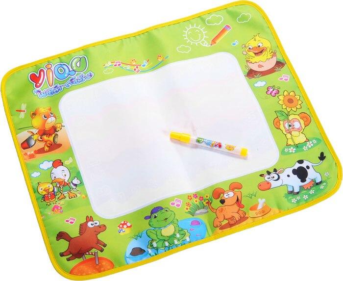 2016 Дети вода Рисунок Живопись Написание мат плате & Magic Pen Doodle игрушка в подарок 58*48 см действие
