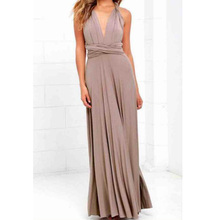 TFGS Womens New Fashion Sexy Boho Maxi Club Dress Bandage Long Party Multiway Bridesmaids Convertible Infinity Robe Dre