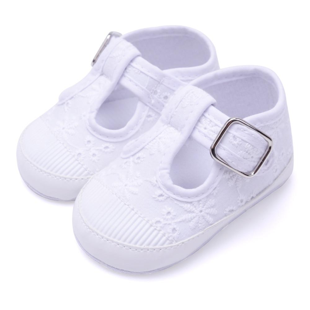 Baby boy girls shoes prewalker bebes first steps anti-slip crib shoes slip on bebe pink white moccs designer Skid-Proof fashion