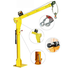 Electric Hoist 6000LBS Electro Crane 12V 24V Copper Motor Truck Crane Machine