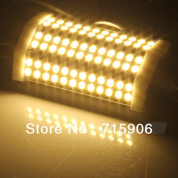 R7s 72 LED 5050 SMD Warm White Light Lamp Bulb 135m 800LM