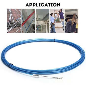 Hot Electrician Tape Conduit Ducting Cable Puller Tools Wheel Pushing for Wiring Installation PLD image