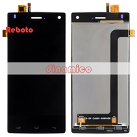 Reboto For FLY FS452 Nimbus 2 LCD Display Touch Digitizer Assembly Black White 1PCS 8 0