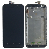 Black LCD Display Glass Touch Screen Digitizer Assembly Frame For Asus ZenFone Max ZC550KL NEW