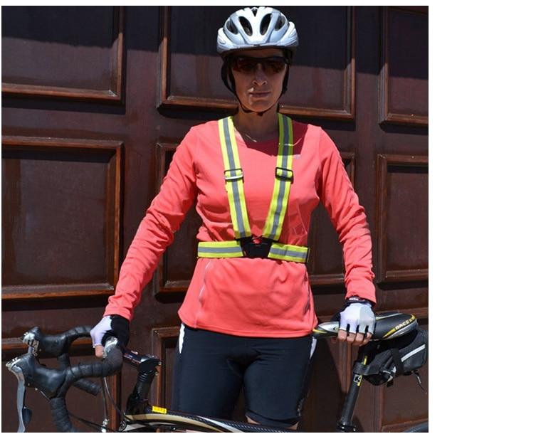 Reflekterande Rem Flexibelt reflektorväststödmotorcykel Ridning med - Motorcykel tillbehör och delar - Foto 6