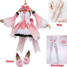 Miku Vocaloid V Miku Cosplay Costume Sakura Miku Dress Hallo