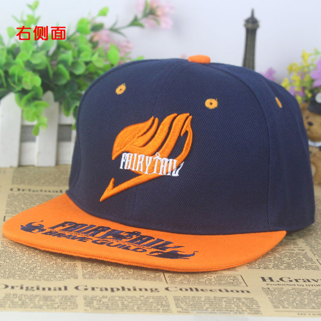 Fairy Tail Cotton Baseball Cap Sun Hat
