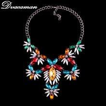 Dvacaman Fashion Bohemian Wedding Luxury Choker Necklace Pendant Women Special Gift Maxi Statement Necklace Jewelry Wholesale