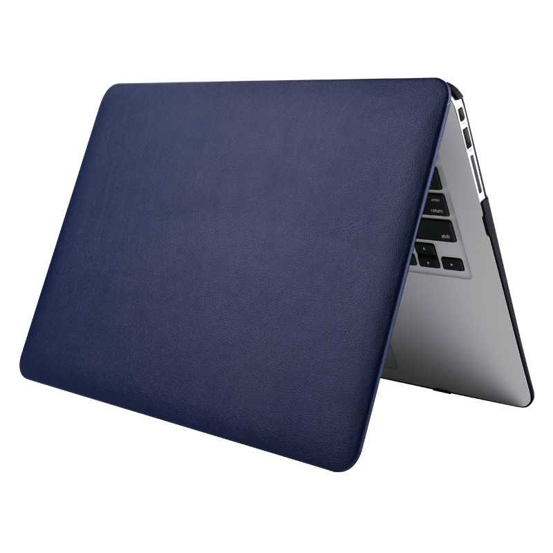 Laptop Case For Apple MacBook Air Pro Retina 11 12 13 15 Leather Plastic Hard Case Cover New Pro 13 15 inch with Touch Bar Case new leather sleeve protector bag stand cover for macbook air 13 pro retina 11 12 13 15 laptop case for macbook pro 13 touch bar