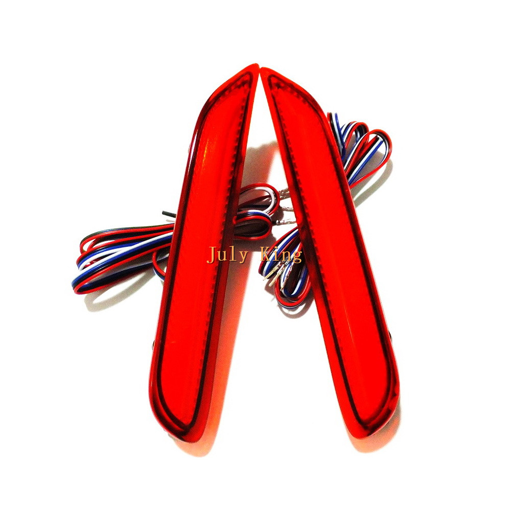 July King LED Brake Lights case for Nissan X trail Rouge 14 17 Qashqai Altima Teana