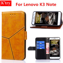 Flip Case For Lenovo K3 Note K50-T5 Soft Silicon Leather With Stand Design Coque For Lenovo K3 Note K50-T5 Cover