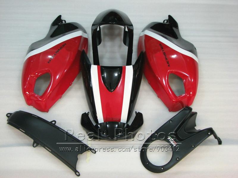 Hot sale injection mold fairing kit for Ducati monster 969 wine red black green bodywork fairings set monster 969 HR73 цена
