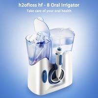 H2ofloss 전기 구강 스파 Irrigator 치아 청소 기계 물 치과 Flosser
