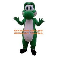 Yetişkin Mario Yoshi Maskot Kostüm Özelleştirme Süper Sevimli Ücretsiz Kargo