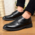 Fashion Man Dress Oxford Leather Shoes Casual Business Formal Occasions Shoes For Man British Bullock Style Point Toe Shoes Man