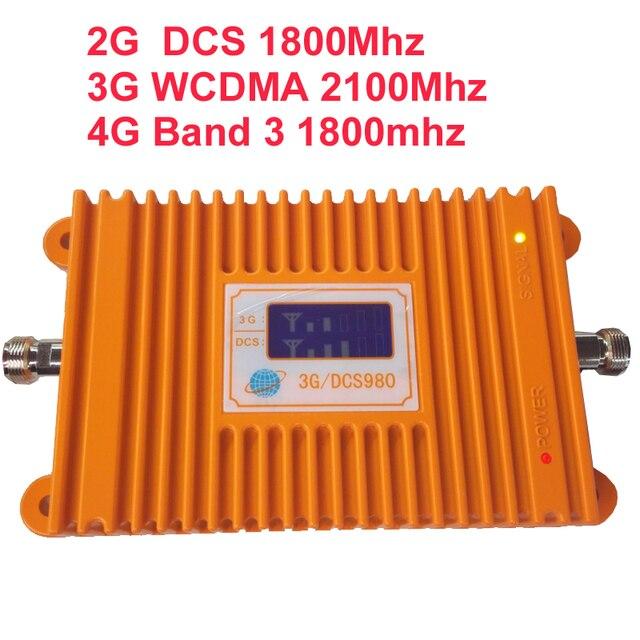 2 Г DCS повторителя и 3 Г WCDMA и 4 Г усилитель Группа 3 группа 9 22dbm 65dbi ЖК-дисплей FDD FDD LTE 4 Г booster усилитель repeater 4 Г booster