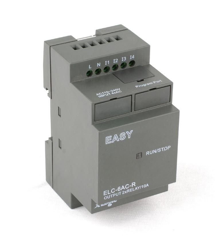 Latest &innovative Programmable Logic Controller,Micro Plc,smart Relay ELC-6AC-R