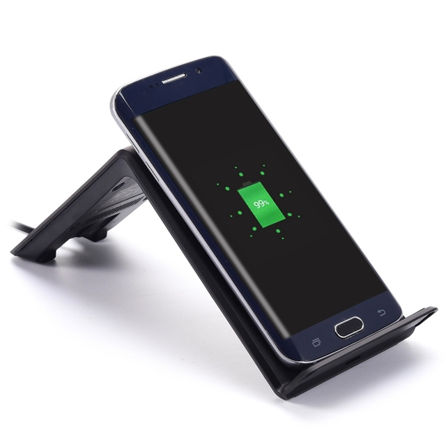 Itian A6 - 5W Vertical Wireless Charger for Samsung Galaxy S6 / S6 Edge / Note5 / S7 / S7 Edge