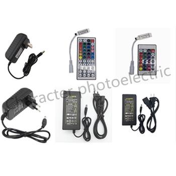 1X 24key / 44 key RGB IR Remote Controller DC 12V 3A/5A Power supply