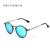 Alumínio De Aviação VEITHDIA Moda Unisex do vintage Rodada Polarizada Óculos De Sol Dos Homens Das Mulheres designer de marca óculos de Sol Eyewear 6358