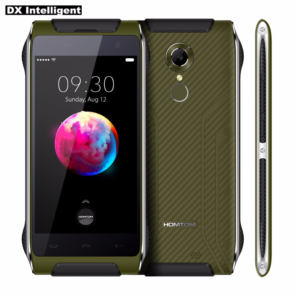 HOMTOM HT20 Pro 3 ГБ 32 ГБ IP68 Водонепроницаемый прочный смартфон 4G MTK6753 Octa Core 4,7 HD Android 6,0 16MP OTG с отпечатком пальцев