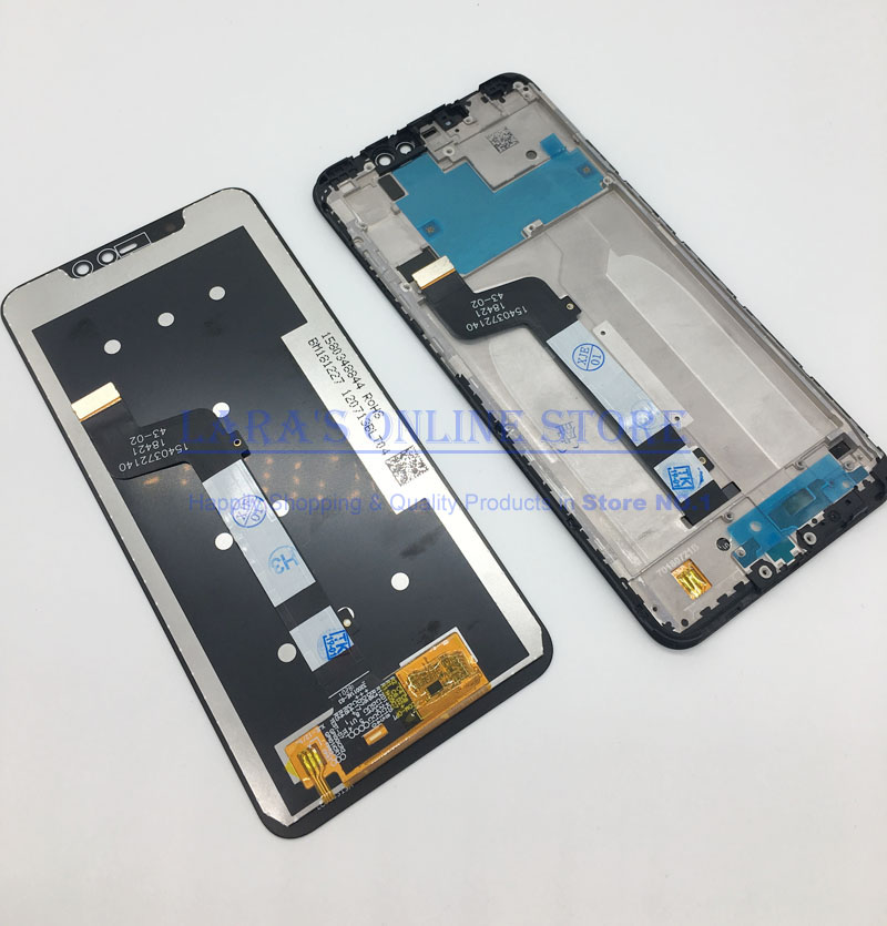 1080*2280 for Xiaomi <font><b>Redmi</b></font> <font><b>Note</b></font> 6 <font><b>Pro</b></font> <font><b>LCD</b></font> Display Touch Screen Digitizer Assembly <font><b>Redmi</b></font> <font><b>Note</b></font> 6 <font><b>Pro</b></font> <font><b>LCD</b></font> Note6 <font><b>Pro</b></font> Screen + Frame image