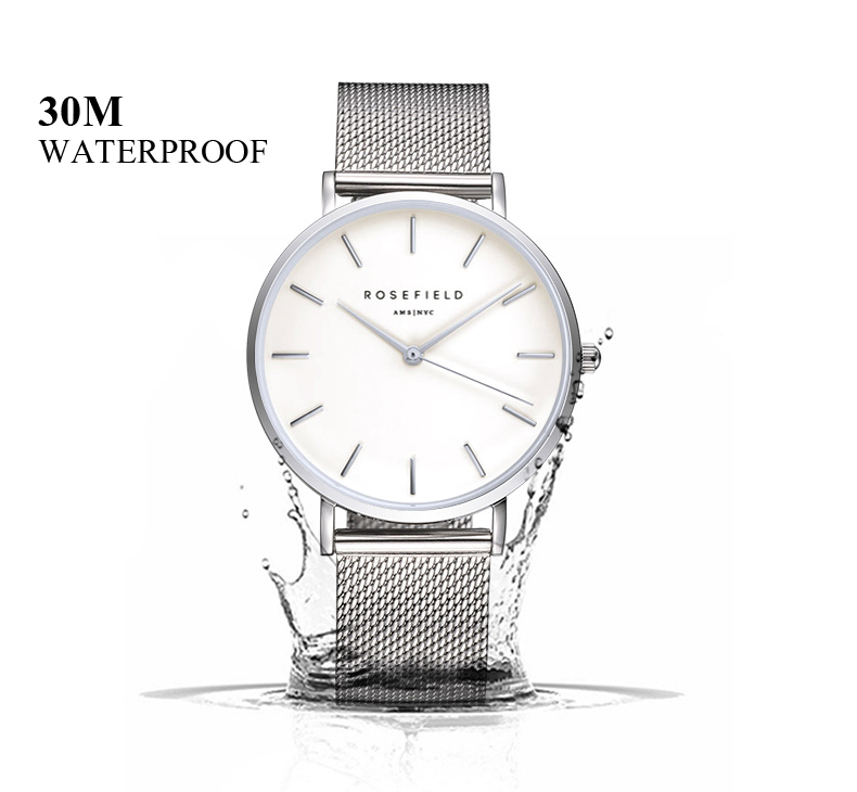 Ladies Ultra-Thin Watch - waterproof