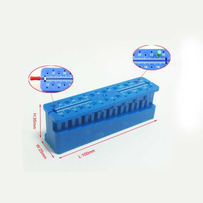 1 Mini Endo Đo Autoclavable Endodontic Khối Các Tập Tin Nha Sĩ Nhạc Cụ Thước Trang Thiết Bị Nha Khoa