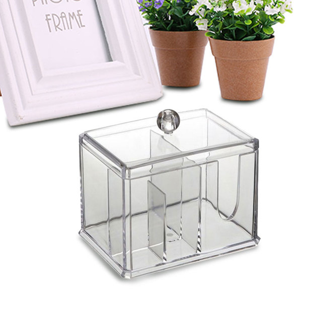 New Transparent ABC Crystal Makeup Jewelry Cotton Storage Box S&le Boxes  sc 1 st  AliExpress.com & New Transparent ABC Crystal Makeup Jewelry Cotton Storage Box Sample ...