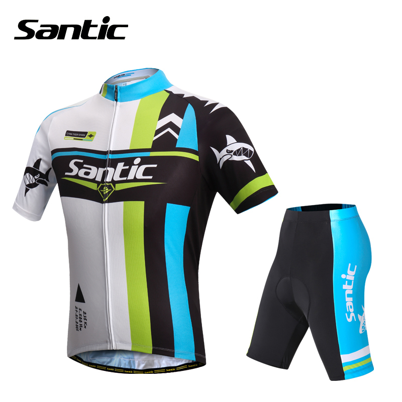 Santic Tour De France Cycling Jersey Short Sleeve Summer MTB Bicycle Bike Jersey Downhill Jerseys Cycle Clothing Kit Quick Dry santic men short sleeve cycling jersey breathable summer cycling clothing mtb road downhill bicycle bike jersey anti sweat